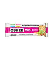 OSHEE MUSLI BAR RODZYNKI ORZECHY 40 G