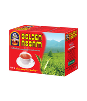 GOLDEN ASSAM - HERBATA GRANULOWANA, CZARNA, INDYJSKA. OSKAR INTERNATIONAL TRADING SP. Z O.O. 100 G