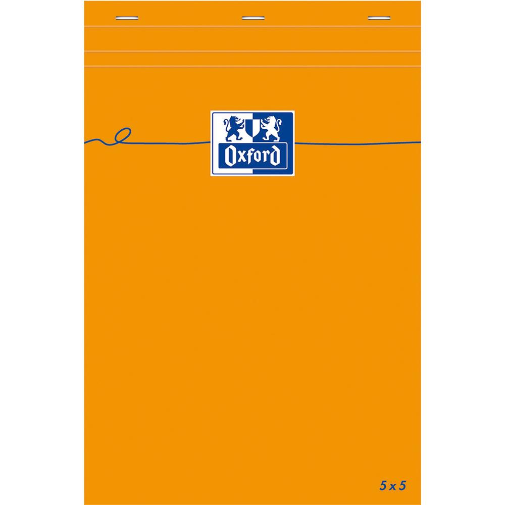 BLOK NOTATNIKOWY A5 80 KARTEK W KRATKĘ OXFORD EVERYDAY