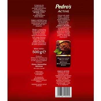 KAWA MIELONA PEDRO'S ACTIVE VAC 500G