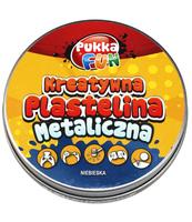 PLASTELINA METALICZNA NIEBIESKA 60G