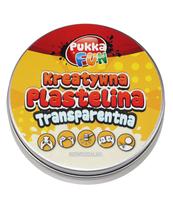 PLASTELINA TRANSPARENTNA 60G ( NIEWIDZIALNA)