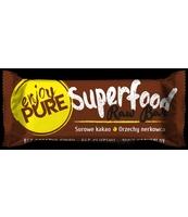 PURELLA FOOD BATON SUPERFOOD SUROWE KAKAO ORZECHY NERKOWCA 35G
