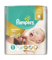 PAMPERS PREMIUM CARE PIELUCHY 2 MINI 22 SZT.