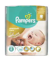 PAMPERS PREMIUM CARE PIELUCHY 2 MINI 80 SZT.