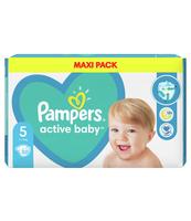 PAMPERS ACTIVE BABY ROZMIAR 5, 50 PIELUSZEK, 11-16 KG