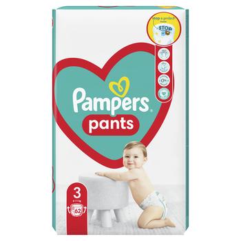 PAMPERS PIELUCHOMAJTKI JUMBO PACK S3, 62 SZT