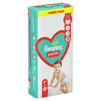 PAMPERS PIELUCHOMAJTKI JUMBO PACK S4+ 50