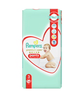 PAMPERS PREMIUM CARE PANTS, R3, 48 PIELUCHOMAJTEK