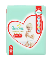 PAMPERS PREMIUM CARE PANTS, R5, 34 PIELUCHOMAJTKI
