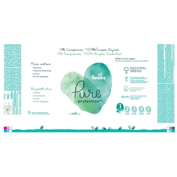 PAMPERS PURE PROTECTION, R1, 35 PIELUCH, 2-5 KG