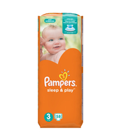 PAMPERS SLEEP&PLAY PIELUCHY 3 MIDI 58 SZT