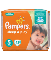 PAMPERS SLEEP&PLAY ROZMIAR 5 JUNIOR , 42 SZTUKI