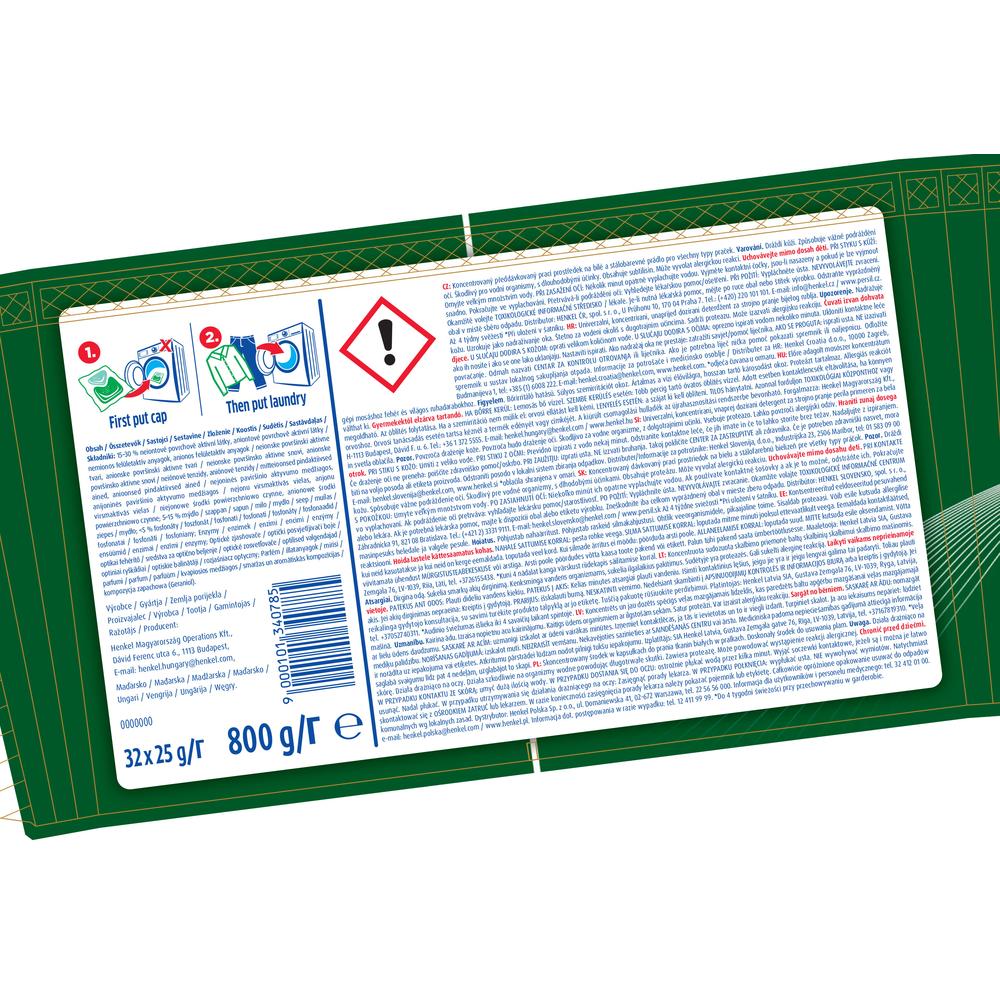 PERSIL DUO CAPS PREMIUM BOX 32P