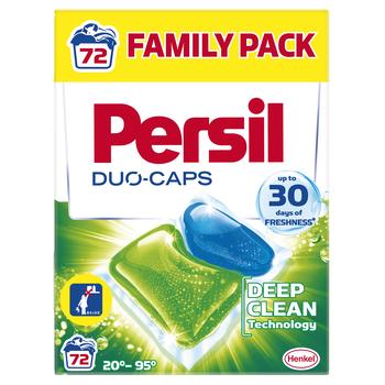 PERSIL DUO CAPS REGULAR 72WL BOX