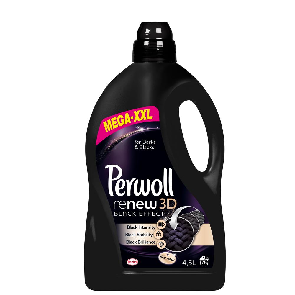 PERWOLL RENEW 3D BLACK 3L+1,5L