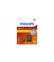 KARTA MICRO SDHC PHILIPS CLASS 10 UHS-1/U1 32GB + ADAPTER