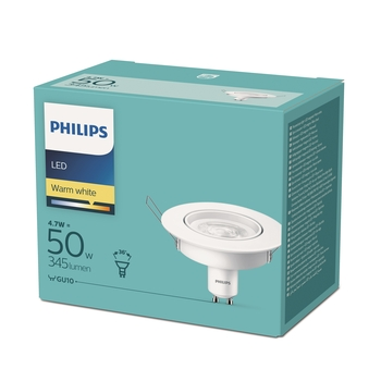 LED PHILIPS SPOT 4,7W GU10 KIT
