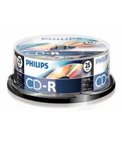 PŁYTA CD-R PHILIPS 700MB SP 25 SZT.