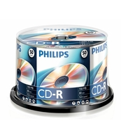PŁYTA CD-R PHILIPS 700MB SP 50 SZT.