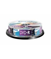 PŁYTA DVD-R PHILIPS 4,7GB SP 10 SZT.