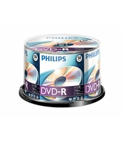 PŁYTA DVD-R PHILIPS 4,7GB SP 50 SZT.