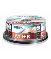 PŁYTA DVD+R PHILIPS 4,7GB SP 25 SZT.
