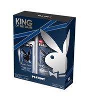 PLAYBOY KING OF THE GAME DEZODORANT ZAPACHOWY 75ML, ŻEL POD PRYSZNIC 250ML