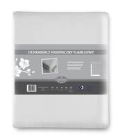OCHRANIACZ HIGIENICZNY FLANELOWY 60X120+25 CM