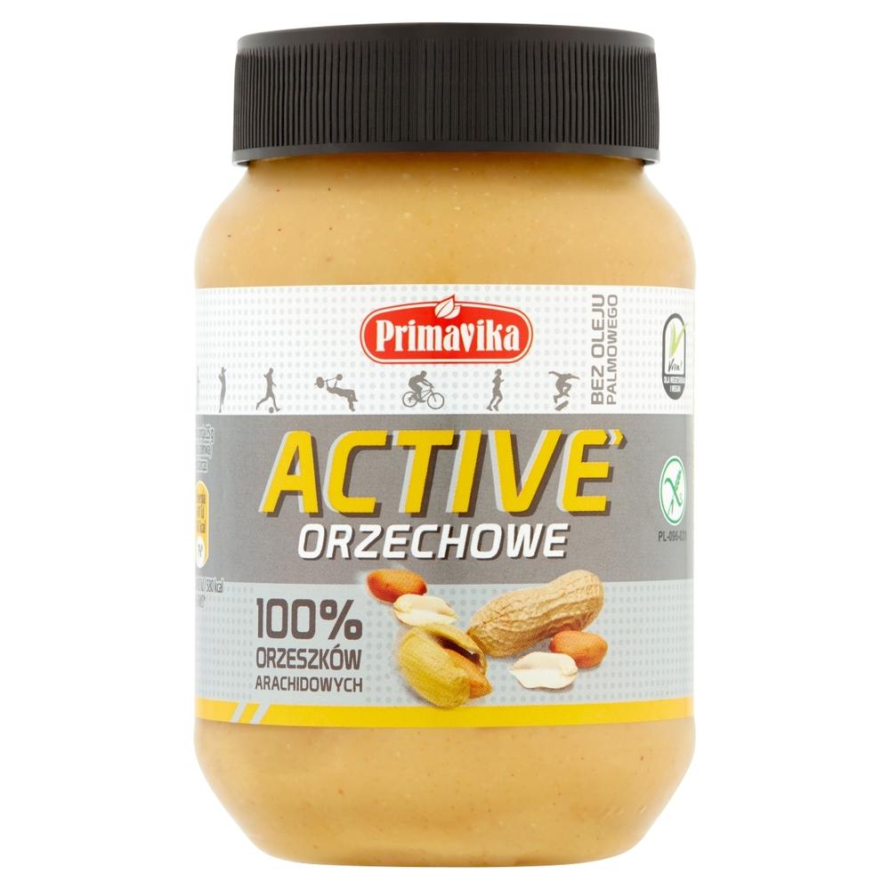 PRIMAVIKA ACTIVE ORZECHOWE 100% ORZESZKÓW ARACHIDOWYCH 470 G