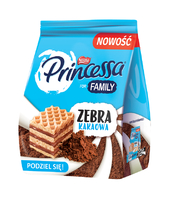 PRINCESSA FOR FAMILY ZEBRA KAKAOWA 150 G