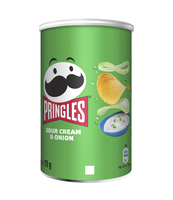 PRINGLES SOUR CREAM & ONION 70 G
