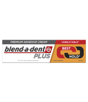 BLEND-A-DENT PLUS DUAL POWER PREMIUM KLEJ DO PROTEZ W KREMIE 40 G