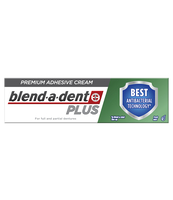 BLEND-A-DENT PLUS DUAL PROTECTION PREMIUM KLEJ DO PROTEZ W KREMIE 40 G