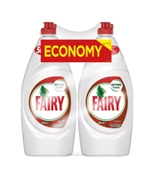 FAIRY PŁYN DO MYCIA NACZYŃ GRANAT I CZERWONA POMARAŃCZA 2X900ML