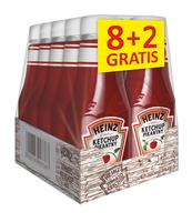HEINZ KETCHUP ŁAGODNY 342G 8+2 GRATIS