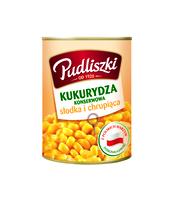 KUKURYDZA KONSERWOWA PUDLISZKI 400G