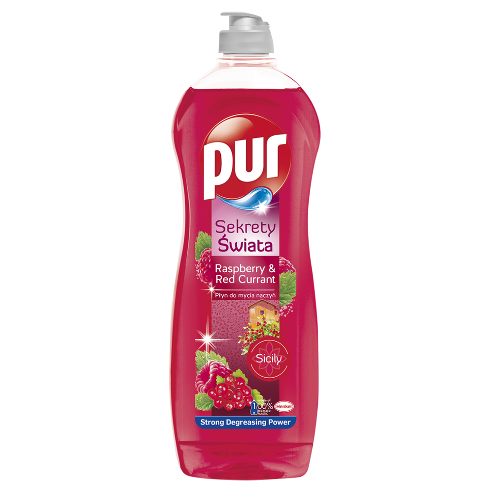 PUR SECRETS OF THE WORLD RASPBERRY & RED CURRANT 750 ML