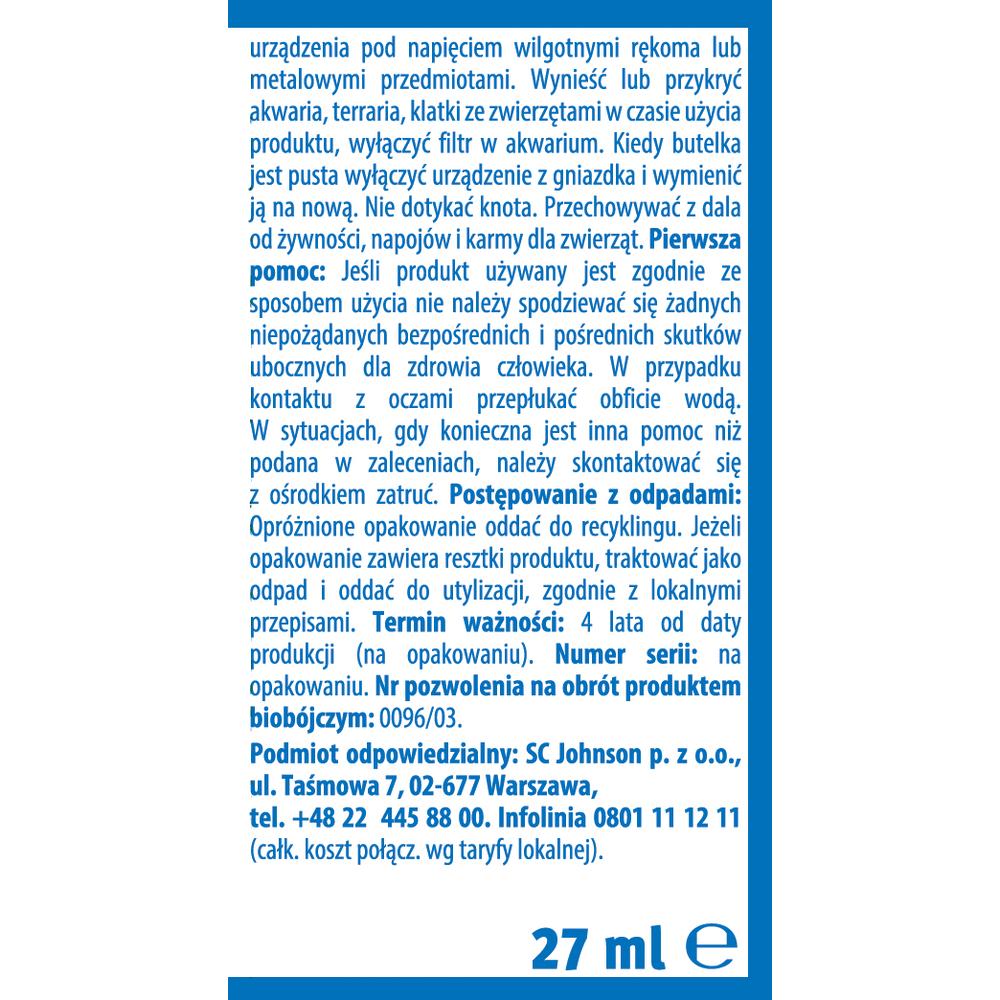 PŁYN DO URZĄDZENIA ELEKTRYCZNEGO RAID 45 NOCY 27ML