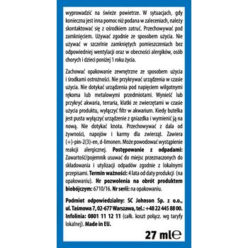 PŁYN DO URZĄDZENIA ELEKTRYCZNEGO RAID 45 NOCY EUKALIPTUS 27ML
