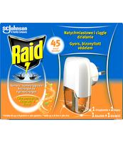 RAID - URZĄDZENIE ELEKTRYCZNE Z PŁYNEM 45 NOCY KWIAT POMARAŃCZY 27ML