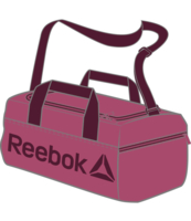 TORBA REEBOK FOUNDATION MEDIUM (CZERWONA)