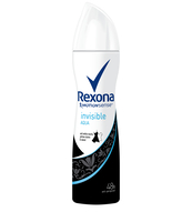 REXONA INVISIBLE AQUA SPRAY 150ML