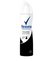 REXONA INVISIBLE BLACK+WHITE 150ML