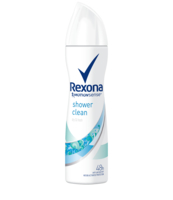 REXONA SHOWER CLEAN SPRAY 150ML
