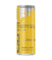 RED BULL ENERGY DRINK THE TROPICAL EDITION 250 ML
