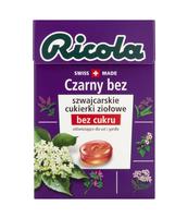 RICOLA CZARNY BEZ 40G