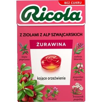 RICOLA ŻURAWINA 27,5G