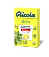 RICOLA CUKIERKI ZIOŁOWE MELISA 40G