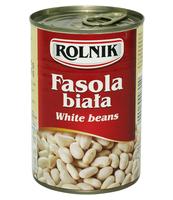 FASOLA BIAŁA 425 ML ROLNIK